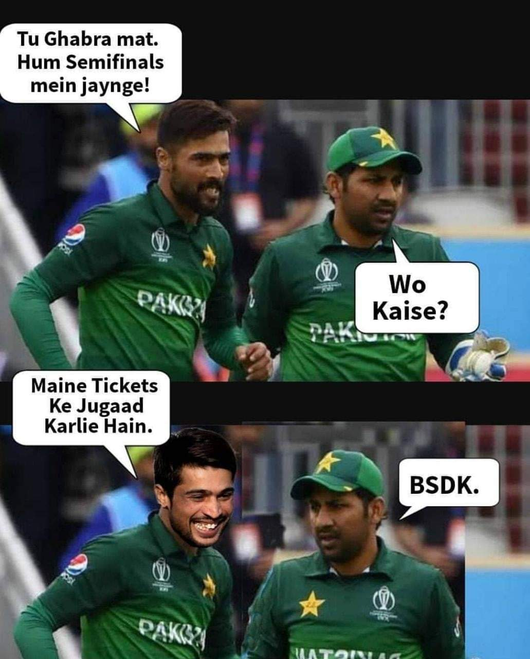 How pakistan will get into semi final